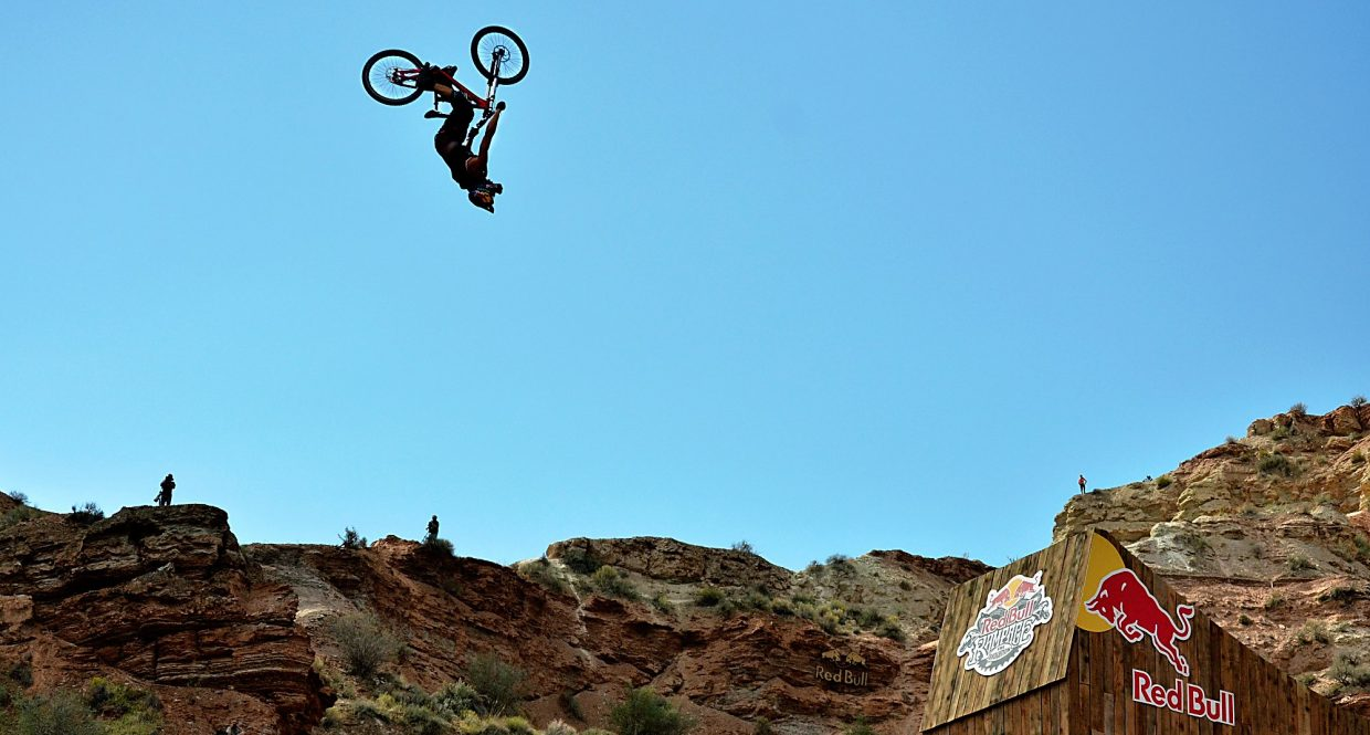 Taking risks at the Rampage: Annual international event