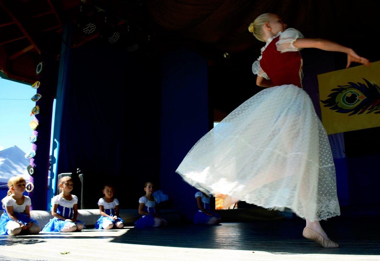 The Crystal River Ballet performs the second act of