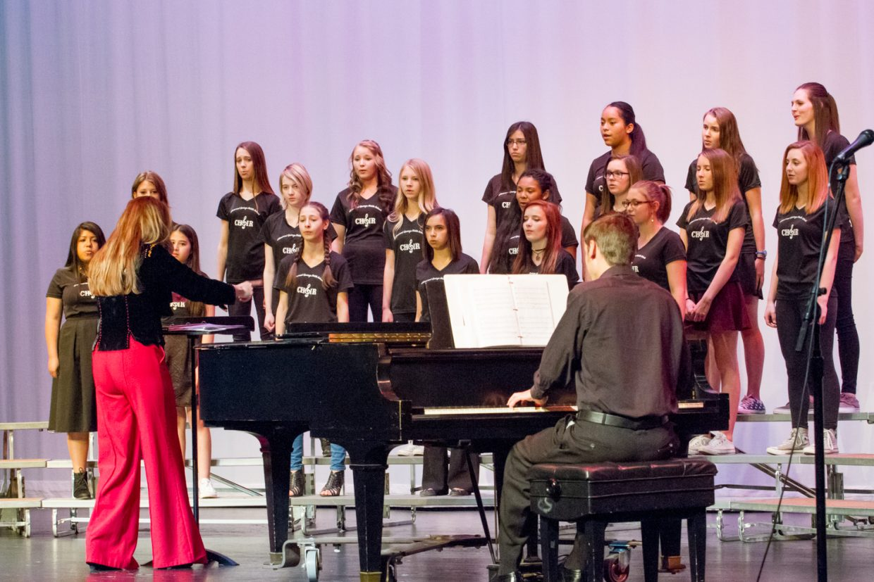 Glenwood Springs High School hosted the 2016 CHSAA large group music festival Thursday and Friday
