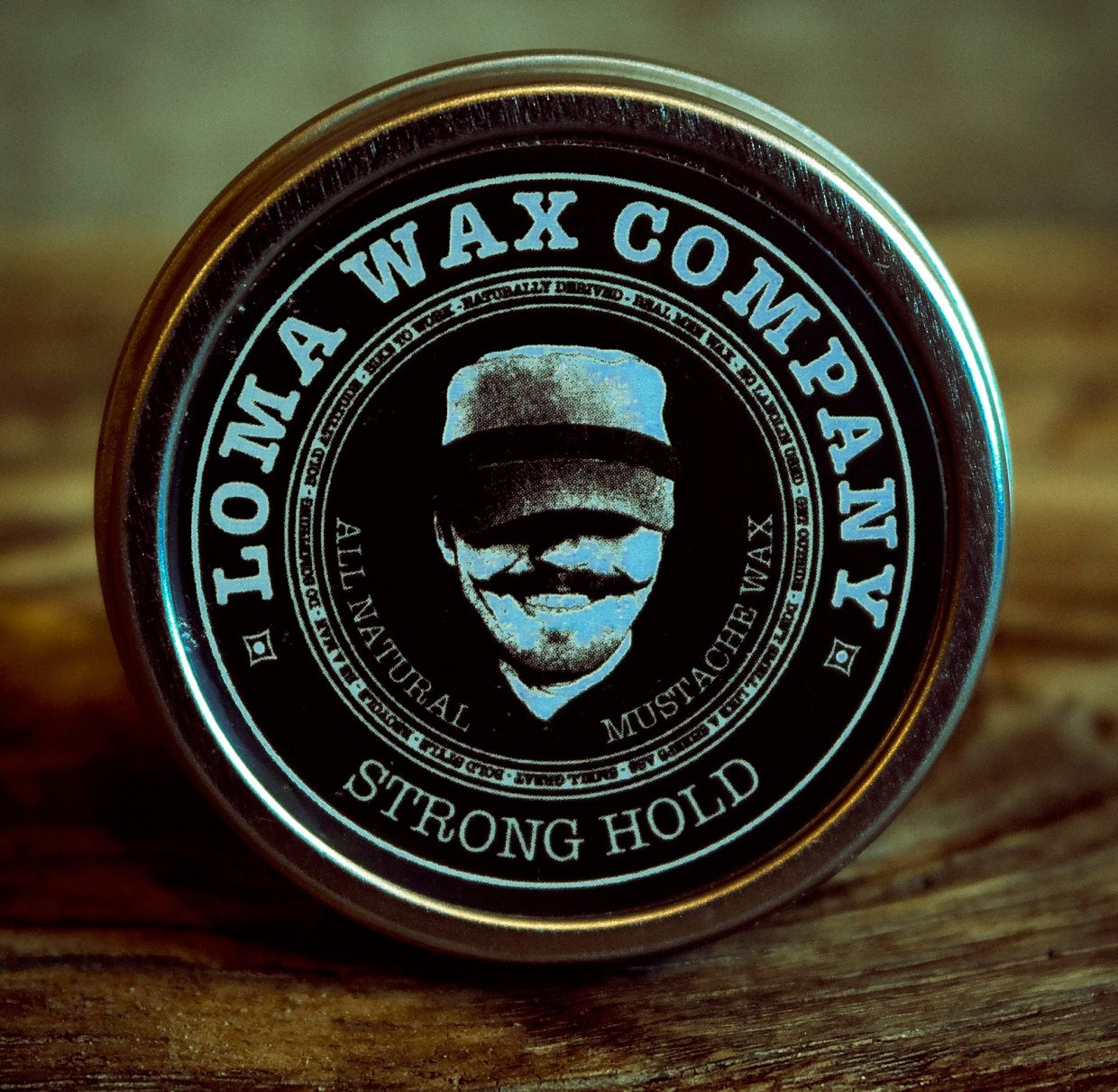 Loma Wax Company, a small Grand Valley business, offers two types of mustache wax and one type of beard oil. Each product is $12 a piece.
