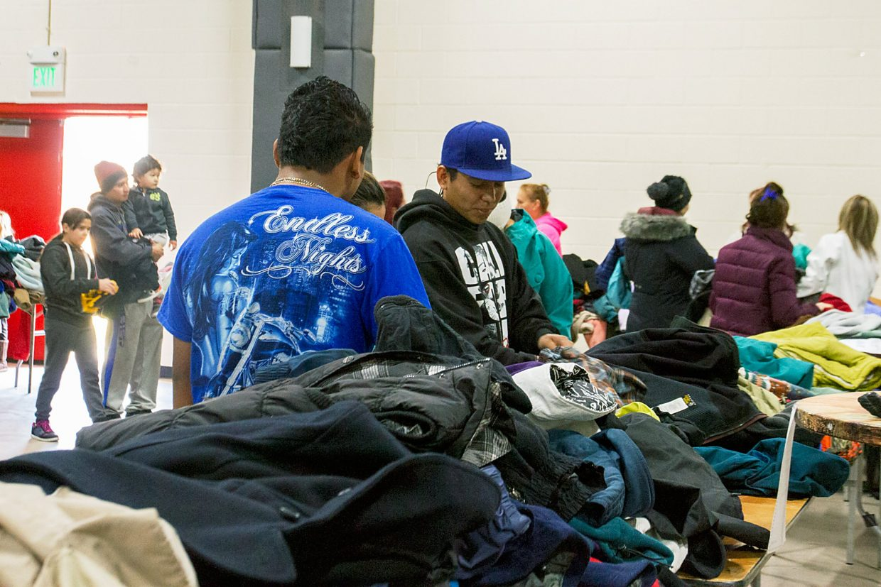 The Roaring Fork Recoat is an annual coat drive that takes place at Carbondale's Third Street Center. This year, more than 500 coats were donated and may be picked up by people who need them from 10 a.m.-2 p.m. today.