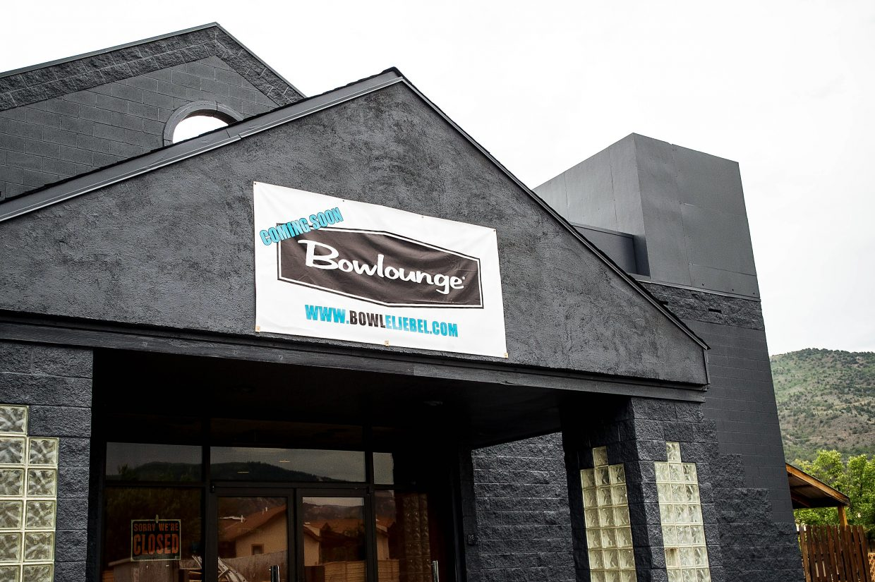 El JeBowl is transforming to the Bowlounge by new owners Craig Spivey and Tom Weber. They hope to finish remodeling and be open to the public by mid-September.