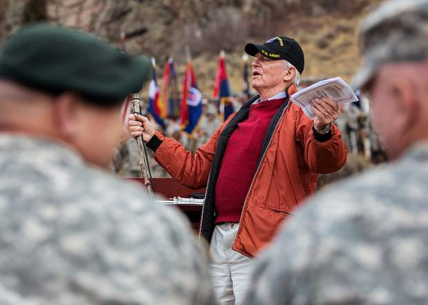 Charles Minot Dole Jr, son of 10th Mountain Division founder Minnie Dole, sings