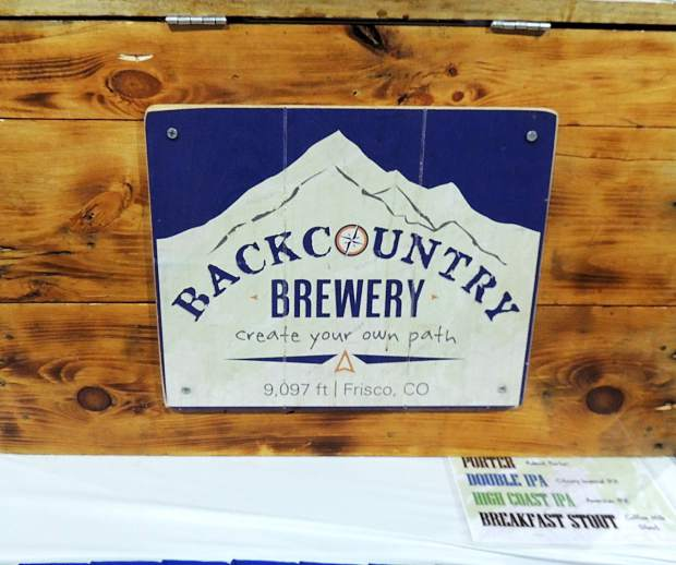 Frisco-based Backcountry Brewery kept it real, serving up several brews including their Breakfast Stout (made with two types of coffee, so