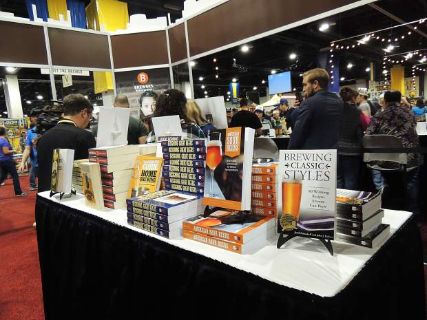 The GABF isn't just about beer; it's also about books about beer.