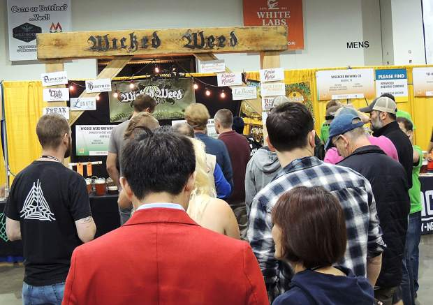 The crowds gathered early and the lines got long as beer lovers patiently waited for a taste of the 3,900 beers being poured at the Great American Beer Festival.