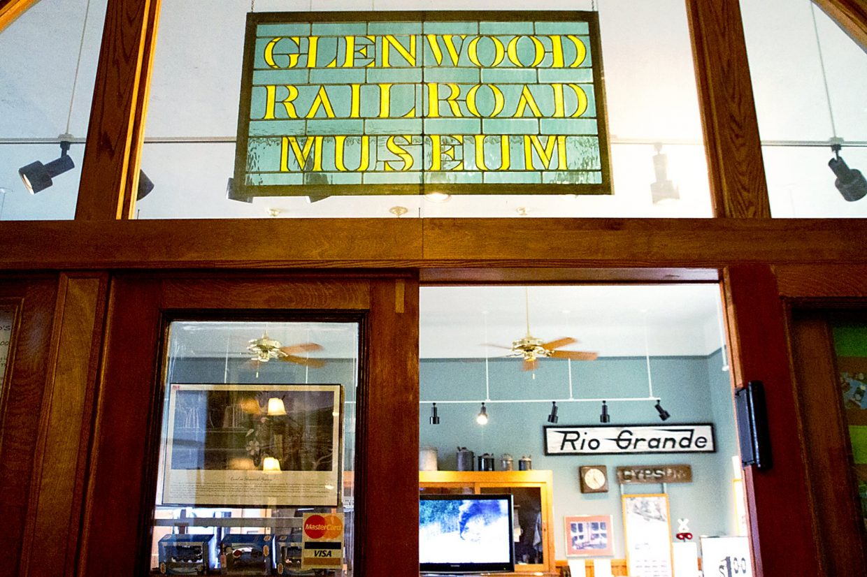 The Glenwood Railroad Museum is open Friday-Monday from 11 a.m. to 3 p.m.