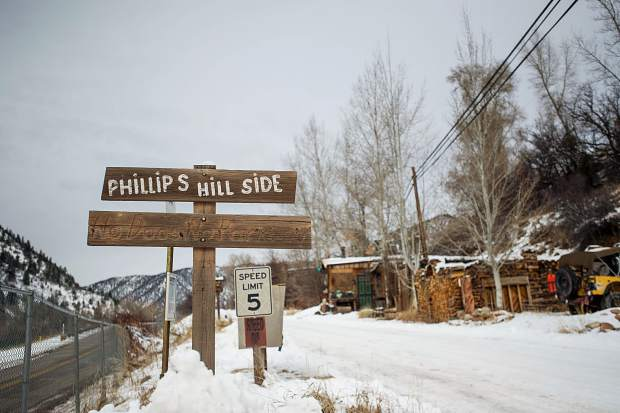 Part of the Phillips Mobile Home Park in Old Snowmass, which Pitkin County commissioners agreed to buy Wednesday for up to $7.5 million.