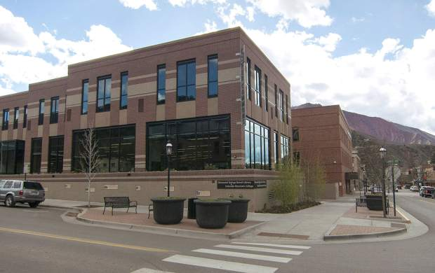 A $1.25 million grant from the Morgridge Family Foundation means that the space formerly known as Cooper Commons will now be called Morgridge Commons. The space is being constructed based on input from numerous educational, nonprofit and community groups from throughout the Roaring Fork Valley, and will be available for public use in the fall of 2017.