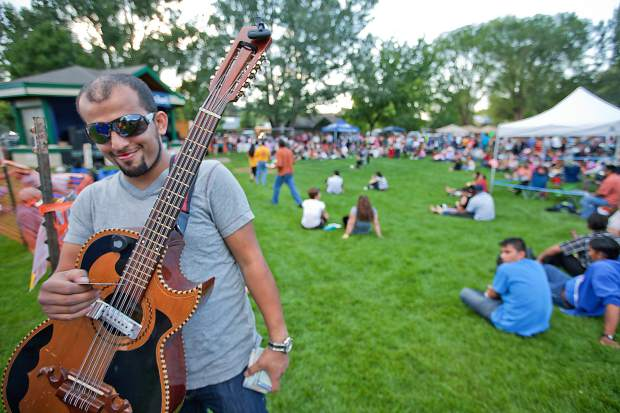 Festival Las Americas features food, music, dance and crafts.