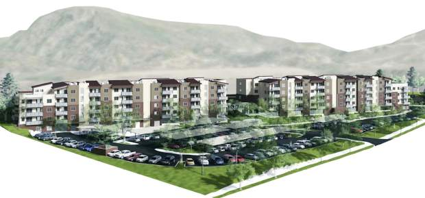 Oasis Apts OK'd with parking, height variances