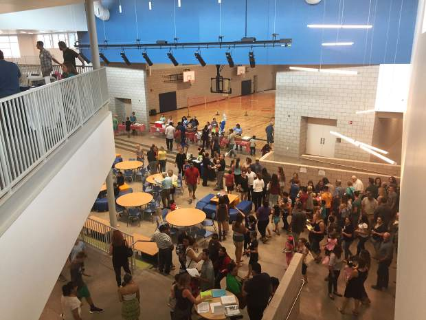 Riverview families get a sneak preview of new school