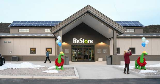 Habitat for Humanity Roaring Fork Valley's new ReStore south of Glenwood Springs.