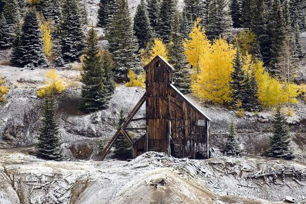 Old Mine at Red Mountain Pass