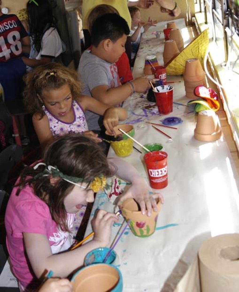 Maker spaces, such as the Rosybelle mobile art classroom that brings the arts to youngsters, is another of Carbondale's many creative endeavors.