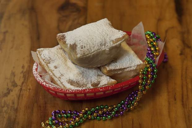 The Lost Cajun's beignets are shown in this image provided by the company.