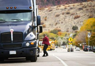 Truck parking improvements impacting Glenwood Springs-area I-70 travel