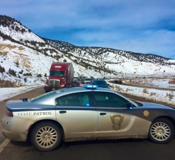 WB I-70 Glenwood Canyon safety closure due to accidents