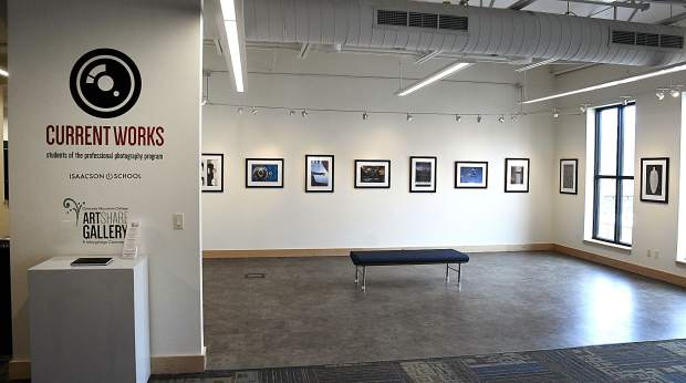 Gallery Show for CMC Professional Photography students.