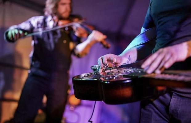 The Lil Smokies, an all-strings quintet, will bring its bluegrass roots to the Ute Theater in Rifle at 8 p.m. Friday.