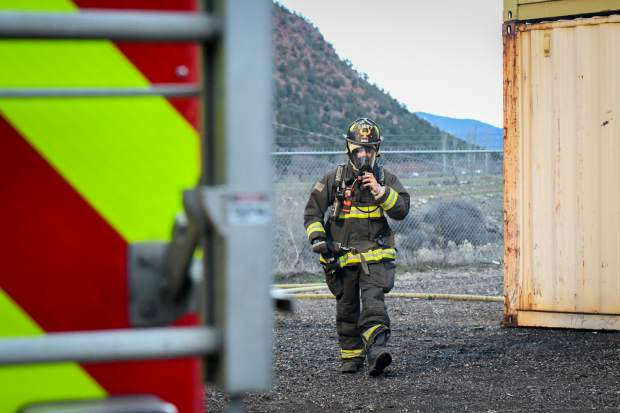The academy has 13 instructors who come together from four different area fire departments.