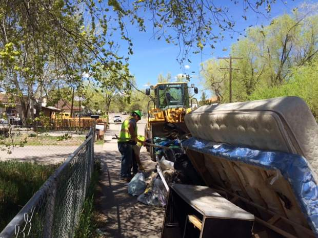 Rifle's Spring Cleanup begins later this month.