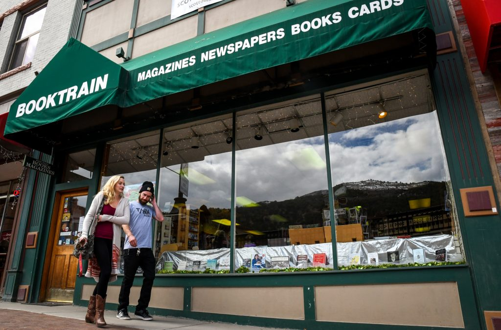 After 40 years in business Book Train in Glenwood Springs