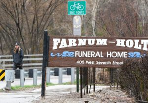Funeral home owner says no intentions of selling or relocating decade-old family business, as Glenwood eyes confluence development