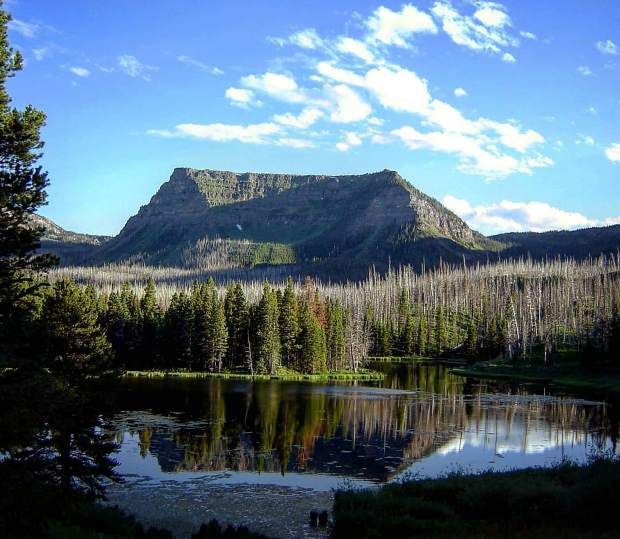 @mustang1587 Peace is always found in the mountains for me. This is from up by Trappers Lake #postsnaps.