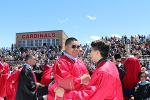 Grand Valley High School graduates urged to show gratitude