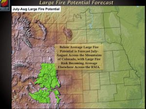 Wet winter, spring may bode well for a mild summer wildfire season