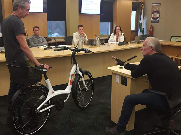 aspen discusses future of e-bikes and scooters in town