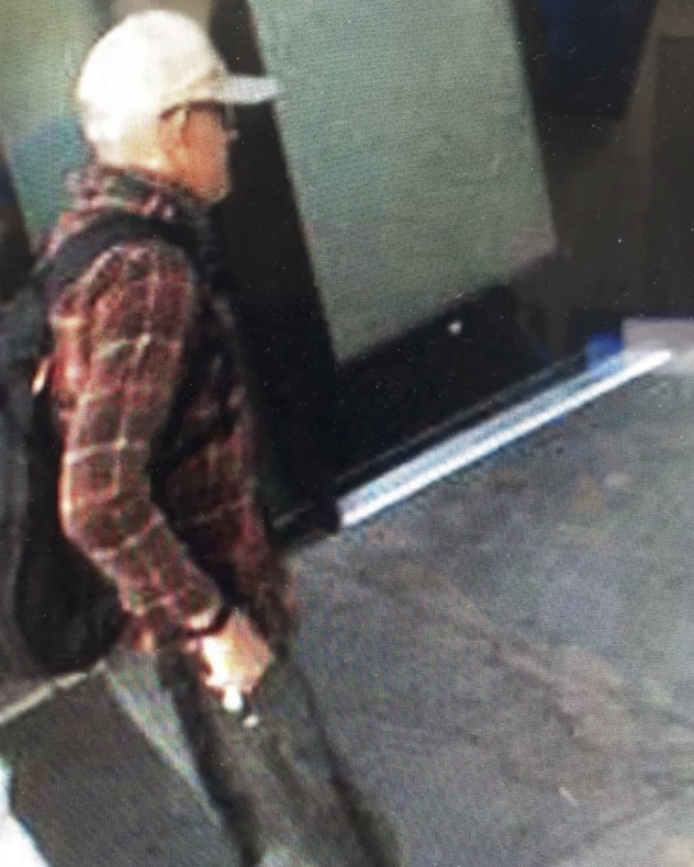 Photo taken from surveillance video released by Aspen police of the suspects.