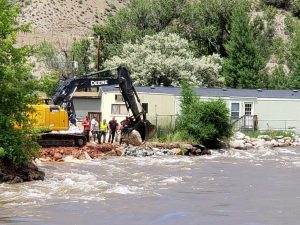More flooding in Gypsum leads to evacuation at Riverview Mobile Home Park