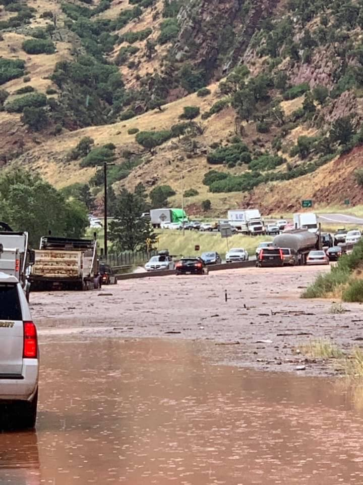 WB I-70 now open west of Glenwood following lengthy closure