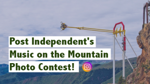 This weekend only: Post Independent's Music on the Mountain Photo Contest!