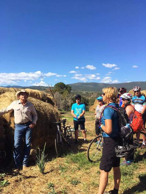 The annual Tour de Farms, sponsored by the area USDA/NRCS Conservation Districts, visits the Nieslanik ranch near Carbondale.