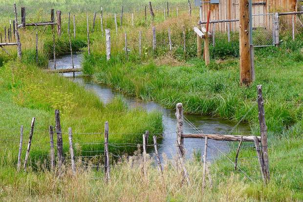 The Ella Ditch irrigates agricultural lands to the east of the Crystal River, south of Carbondale. In August 2018, the Ella Ditch placed a call for the first time ever, calling out junior water rights holders, including the Town of Carbondale.