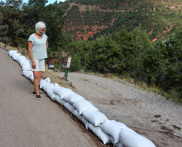 Unease in wake of Basalt's flash flood leads to dispute over sandbags