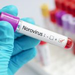 Norovirus positive blood tube